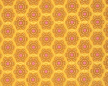 Little Honey in Gold - Anna Maria Horner - Folk Song - Free Spirit cotton quilt fabric - half yard