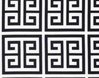One yard - Black Frette - Chinoiserie Chic - Dena Designs - Free Spirit cotton quilt fabric