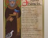 Saint Francis of Assisi Print
