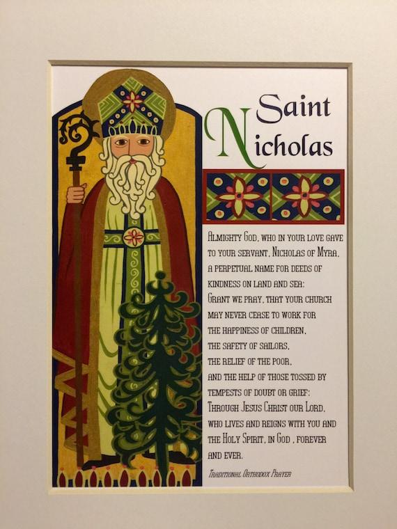 Saint Nicholas Print