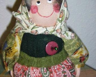 Babooshka Pincushion Doll-Valia