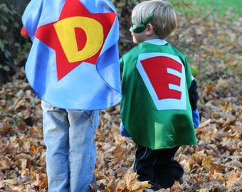 Supehero Capes kids  Cape Personalized Dress up Pretend Play Costume party favors