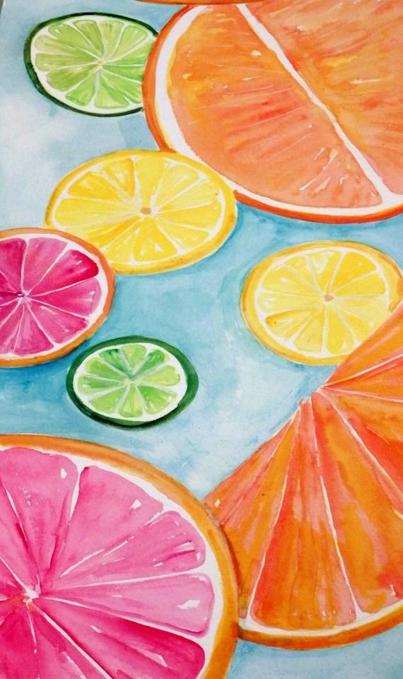 Citrus Fruit Kitchen Decor