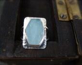 iceberg ... aquamarine ring