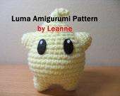 Luma Amigurumi Pattern