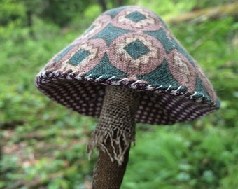 a sewing pattern : little mushroom