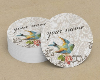 Custom Stickers  Custom Logo Stickers  Personalized Stickers  Product Labels  Adhesive Labels  Return Address Labels  Vintage Bird 12