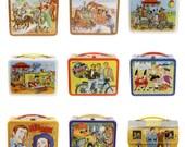 Retro Lunchbox Magnet - Gunsmoke, Hanna Barbera, Happy Days, Hee Haw, H.R. Pufnstuf, Hogan's Heroes