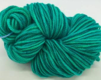 Cashmere Yarn, Aran weight, Mermaid Tail