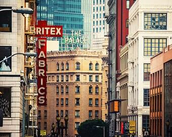 San Francisco Photography - Print, California, Travel, Vacation, U.S. Landmark, Buildings, Union Square
