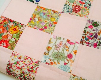 Baby Quilt - Hello Kitty Liberty