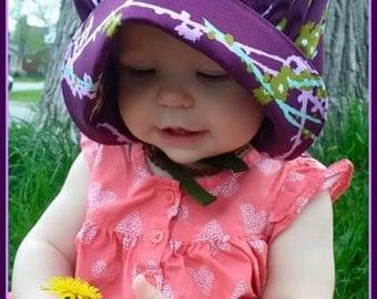 Bonnet Sun Hat - Sun Bonnet for Baby Toddler Sparrow