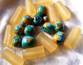 Polymer Clay & Resin Bead Mix ~ Destash