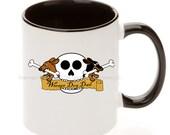Dachshund Wiener Dog Dad Skull Tattoo Coffee Mug