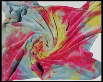 Hand Dyed Organic Bamboo Velour Pillowcase