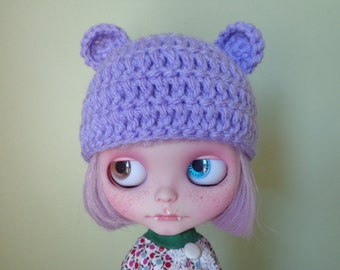 LILAC teddy ears. smaller ears version