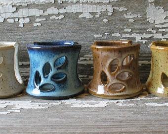 Pottery Sponge Holder - Spongette - ceramic sponge holder - Kitchen Sink top sponge holder