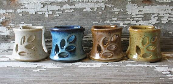 "Pottery ""Spongette"" - Kitchen sponge holder - Sink top sponge holder"