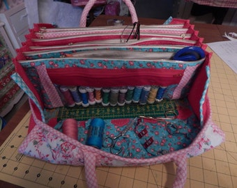 My Quilter's Bee Bag Pattern