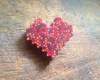 8bit resin sprinkle pin