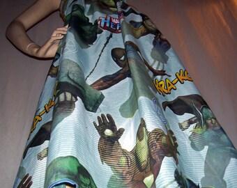 Avengers Sundress OOAK Marvel Hero Dress Comic Con Maxi Long Dress Mom Party A Line Wolverine Thor Hulk Iron Man Adult M L XL XXL Plus