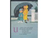 Childrens Vintage Illustration Notebook