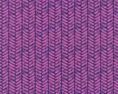 Cotton + Steel Honeymoon - palm dusty purple - fat quarter