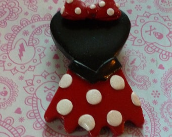 Minnie Mouse Corset Pin - D017