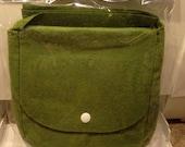 Genevive Gail Felt Mini Bag BOHO Collection Needle Felting