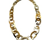 Horn Chain Necklace - Q9690