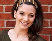 Fabric Headbands, Womens Headband, Earth Toned Headband