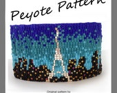 Paris Lovers Bracelet - For Personal Use Only PDF Peyote Pattern