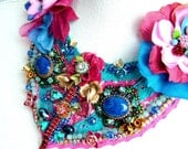 Stop and stare at me -  OOAK Neckpiece - Ready to ship xx