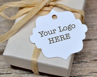 """96 1.5"""" - Customized Hang Tags Price Tags Product Display Fancy Cut Tag"""