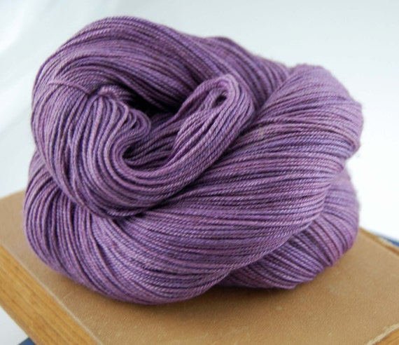 Mys 622 Yarn Quot Plum Quot Superwash Merino Yak Silk Yarn