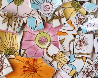 Mosaic Tiles-Daisy Fields-65 tiles