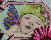 Fairy Baby gift box with memory book