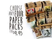 Choose ANY 4 PAPER PACKS!