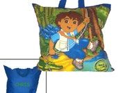 DIEGO PERSONALIZED PILLOW - Pillow for Travel - Go Diego Go!