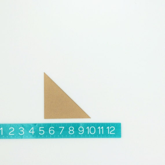"half-square triangles PAIR (4.75"")"