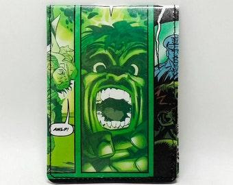 Sewn Comic Book Wallet - The Hulk Design 24