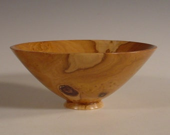 Australian Brown Mallee Burl Wood Bowl Turned Wood Bowl Number 5912