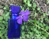 Downton Abbey Perfume Glass Bottle -Old World Apothecary Jar