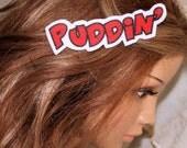 Puddin Harley Quinn Hair Clip MTCoffinz