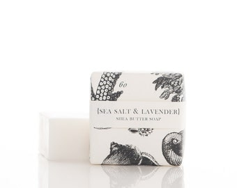 Sea Salt & Lavender - Shea Butter Soap