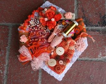 Orange Goodness--- Inspiration Kit ---
