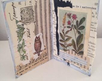 Original Collage Portfolio 'book' decoration no. 1