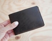 Mens Leather Bifold Wallet / Leather Bifold / Leather Wallet / Mens Wallet / Minimalist Wallet / Small Mens Wallet / Mens Leather Wallet