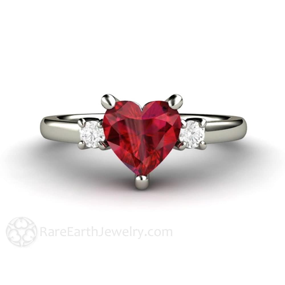 ruby ring ruby engagement ring promise ring 3