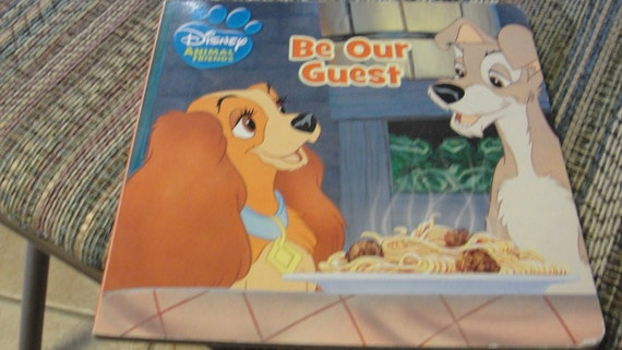 Items similar to Be Our Guest Disney Anaimal Friends Hard ...